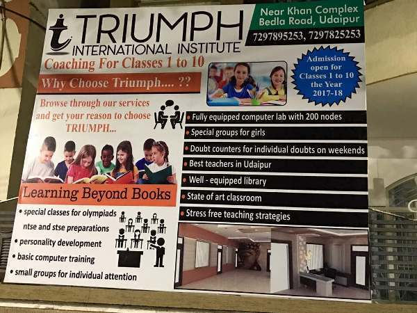 Academics with development – Triumph adopts a holistic tuition approach