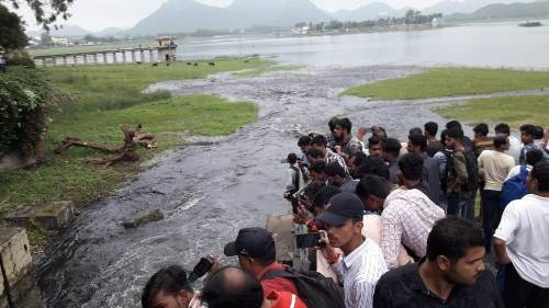 [VIDEO] Story of FatehSagar 2019 – How it Progressed and Now in Pictures   Udaipur Monsoon 2019
