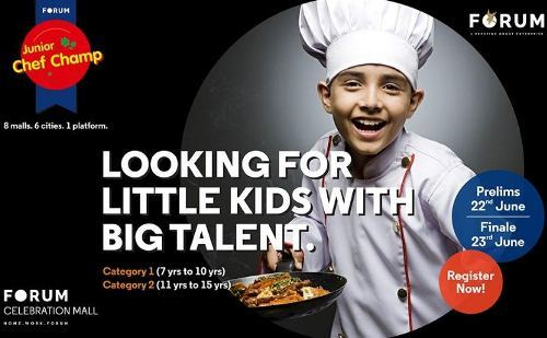 Junior Chefs to battle it out BIG at Celebration Mall