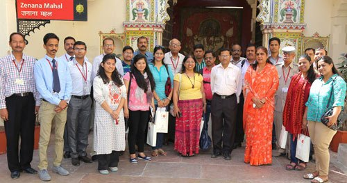 National Museum Training Team Visits City Palace