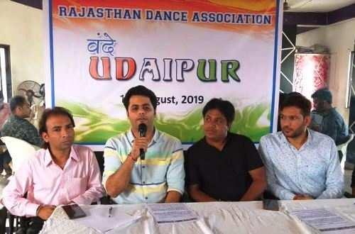 राष्ट्र के नाम वन्दे उदयपुर मे 15 अगस्त को 150 डांसर देंगे देश भक्ति प्रस्तुतियां
