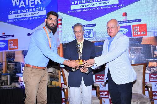 Hindustan Zinc receives Water Optimization Award