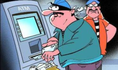 2 failed ATM robbery attempts-Cash safe