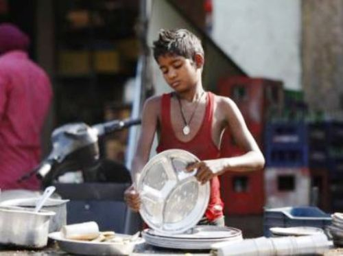 Child labour rescued from Sukher