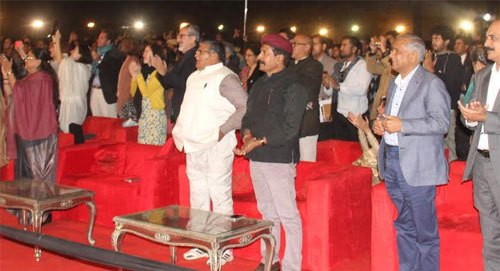Udaipur World Music Festival is a remarkable event: Vasundhara Raje