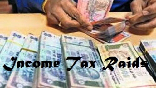 Income tax raids-Crores of undeclared assets