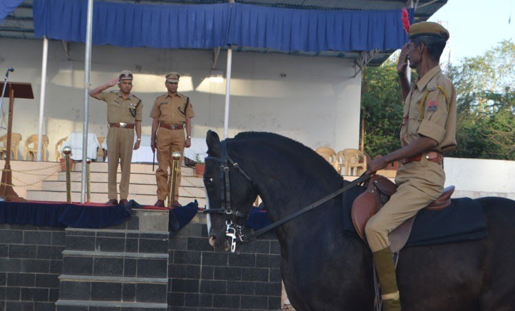 56 Policemen honored for their service