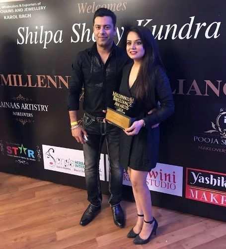 Udaipur's make-up artist wins Millennium Brilliance Award