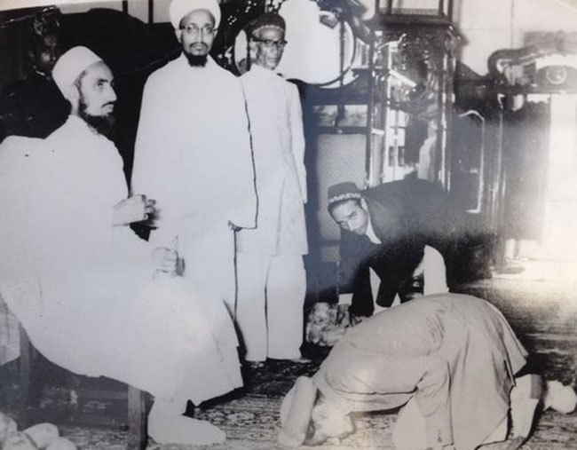 Dr. Sayyedna Mohammed Burhanuddin (A.Q.) passes away
