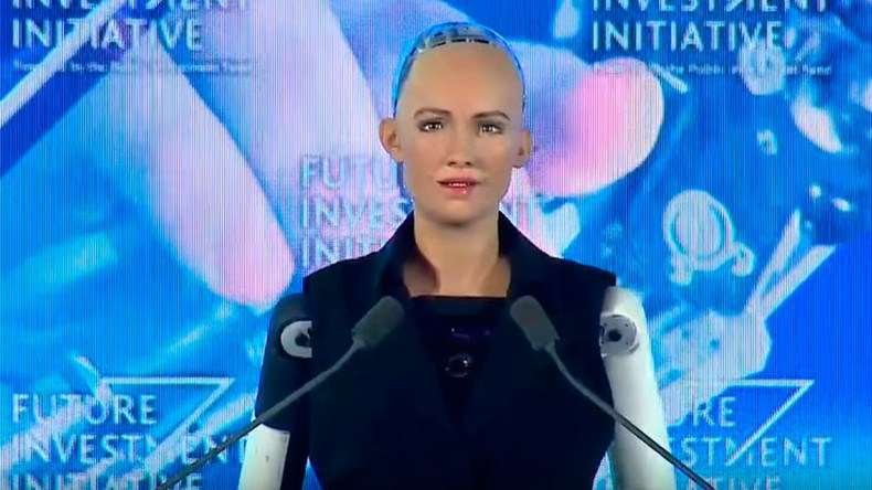 Citizenship to a humanoid robot?? Saudi Arabia does it
