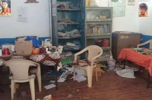 Principal catches thief in Rampura school
