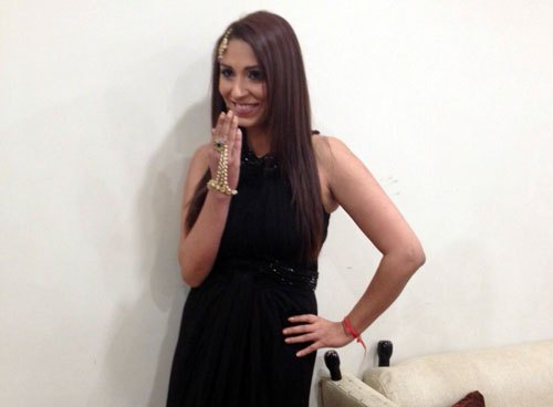 VJ & Model Pooja Misrra launches her Calender in Udaipur