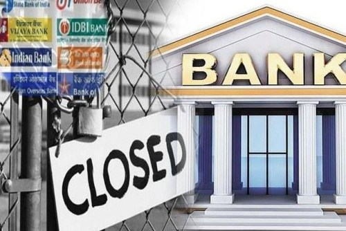 Banks to stay closed from 26th to 29th September