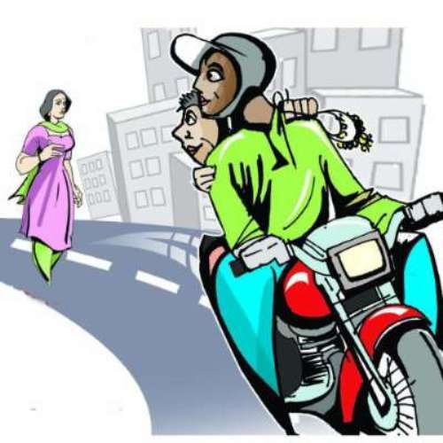 2 bike riders snatch mobiles and bags-1 arrested