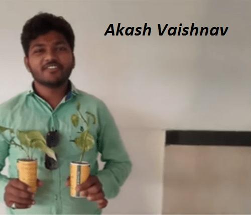Innovative wedding invitation with Money plant pot