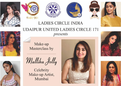 [VIDEO] Curtain Raiser| Celebrity Beautician Mallika Jolly in Udaipur tomorrow