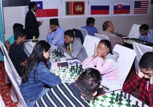 प्रथम लेकसिटी इन्टरनेशनल ओपन ग्रेंडमास्टर शतरंज प्रतियोगिता तीसरे दिन हुए कडे मुकाबले