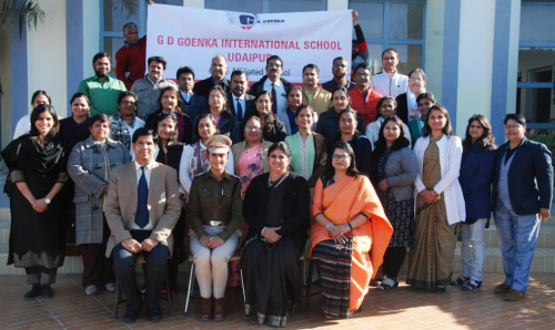 CBSE holds Masters Training for English at G D Goenka International School, Udaipur