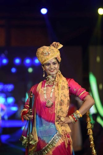 Bhumika Choudhary paves her way in Top-5 Mission Dream Miss India