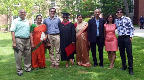 Udaipur's Shaheen Shah graduates from Harvard Business School