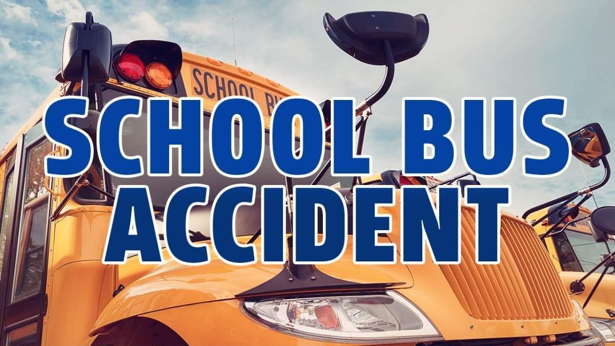 School bus rams into tanker-5 kids injured