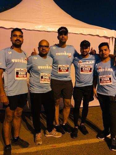 Half marathon won by Mewari Runners in Gurugram