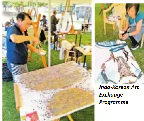 Indo-Korean contemporary Art exchange programme