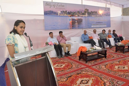 Fatehsagar Lake deepening project by Hindustan Zinc