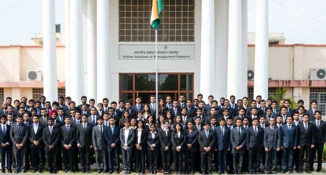 IIM Udaipur announces placement report 2013-14