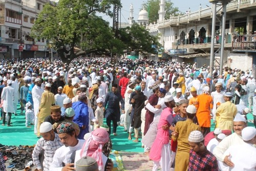 [Photos] Eid ul fitr celebrated in Udaipur