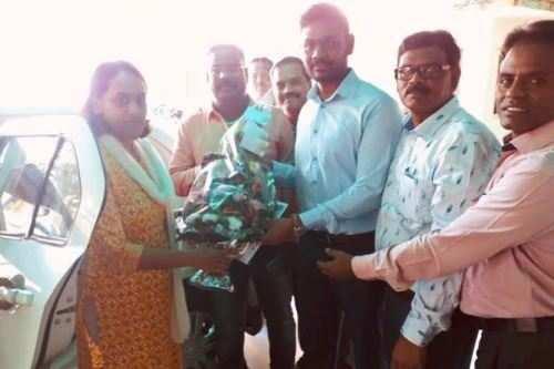 उदयपुर तमिल संघ ने कलेक्टर आनंदी का किया सम्मान