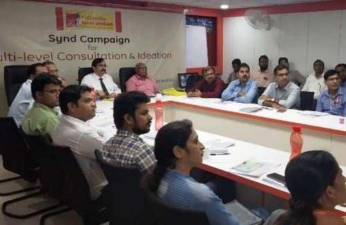 सिंडिकेट बैंक द्वारा विचार-विमर्श हेतु बहु-स्तरीय परामर्श कार्यशालाओं का आरंभ