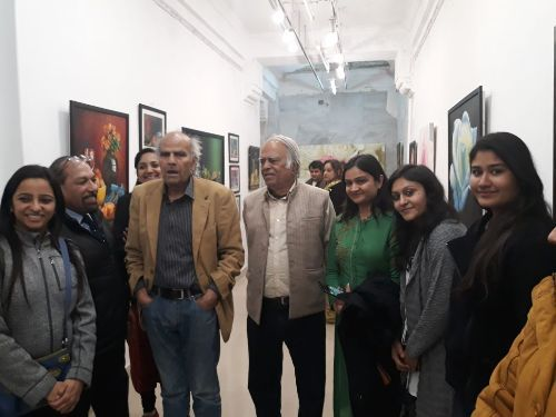 Painting exhibition by Freelance young artists