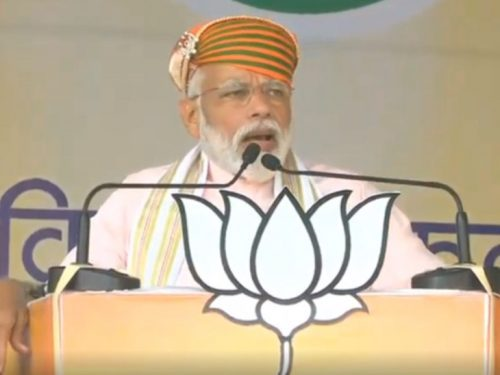 Modi in Udaipur: NDA has shown that running honest government is possible