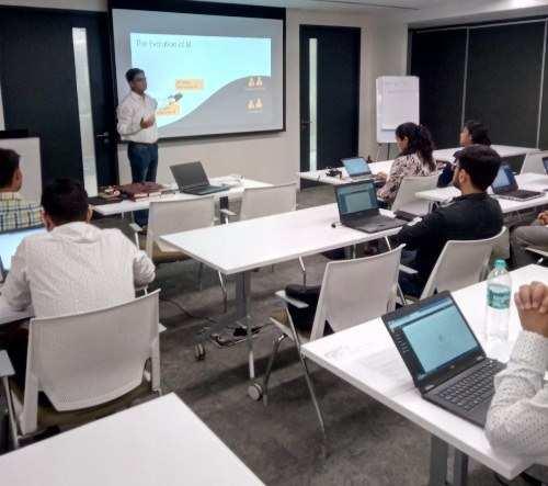 Dashboard in a Day (DIAD) on Power BI at Microsoft Gurgaon – Advaiya