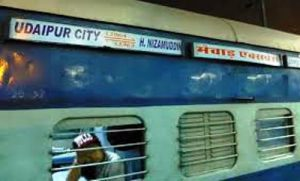 Mewar Express cancelled from 5th to 7th September