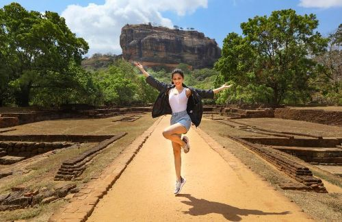 [Photos] Manushi Chhillar explores Sri Lanka with Cinnamon Hotels and Resorts