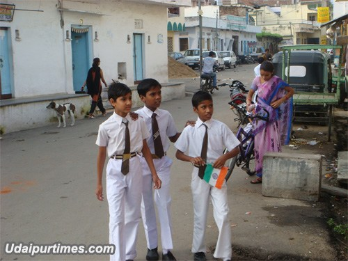 Independence Day Celebration In Udaipur [Pictures]