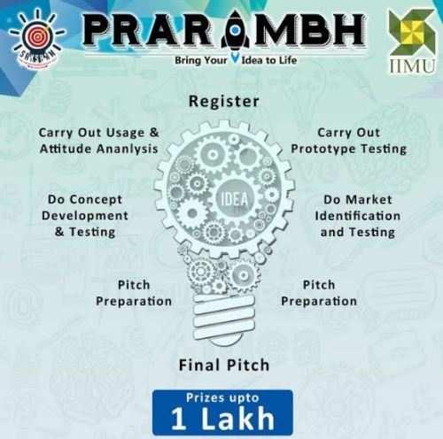 3 days to register for Prarambh – IIM Udaipur Entrepreneurs Juke box