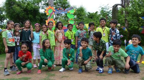 Hariyali Amavasya celebrated at Seedling Modern Public School