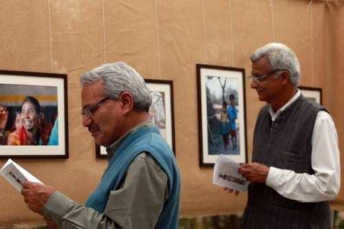 John Pheasant holds Photo Exhibition to support Seva Mandir