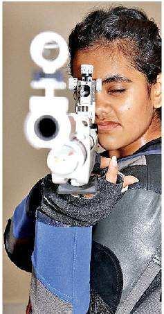 Udaipur's Sudeeksha wins gold in rifle shooting