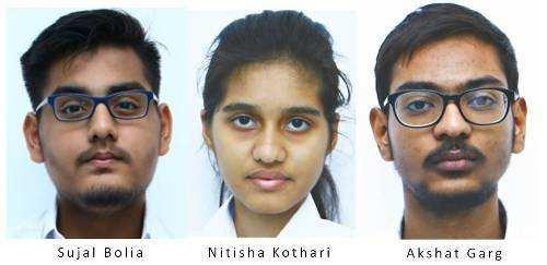 डी पी एस उदयपुर के छात्रों ने जे ई ई एडवांस में फहराया अपना परचम