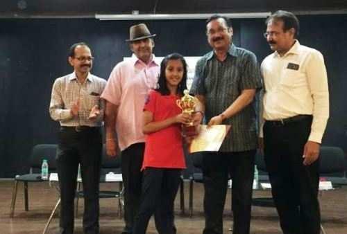 राज्य स्तरीय शतरंज प्रतियोगिता में आन्या चावत का उत्कृष्ट प्रदर्शन