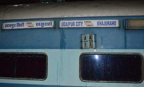 Route changed for Udaipur-Khajuraho train