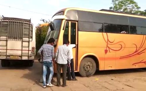 Man found dead in private tourist bus at Chetak Circle