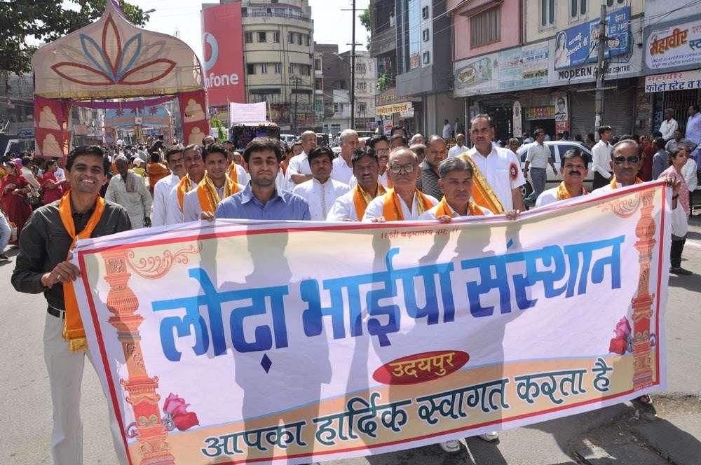 [Photos] Grand Procession on Mahaveer Jayanti