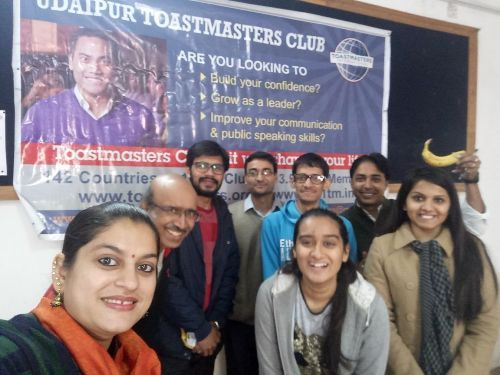 Communication Creativity and Ideas at Udaipur Toastmasters