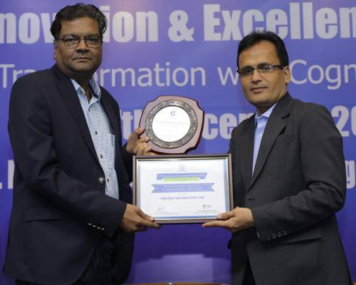 Advaiya recognized as Best Cognitive Technology Provider for 2018