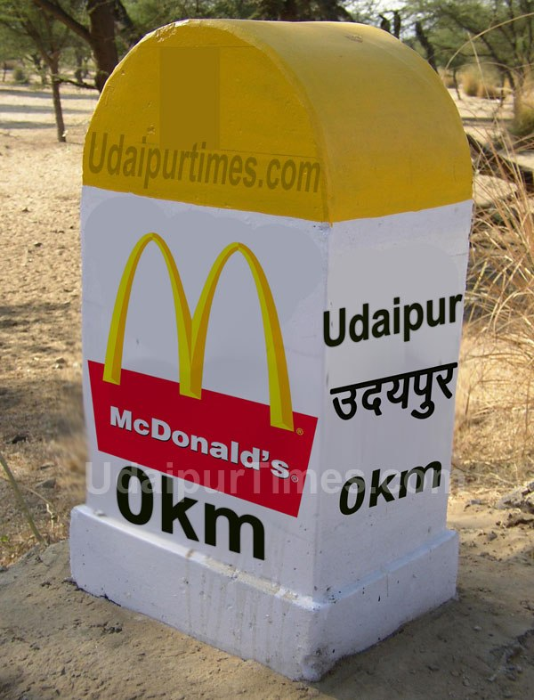 McDonald's to Conquer Udaipur Soon!